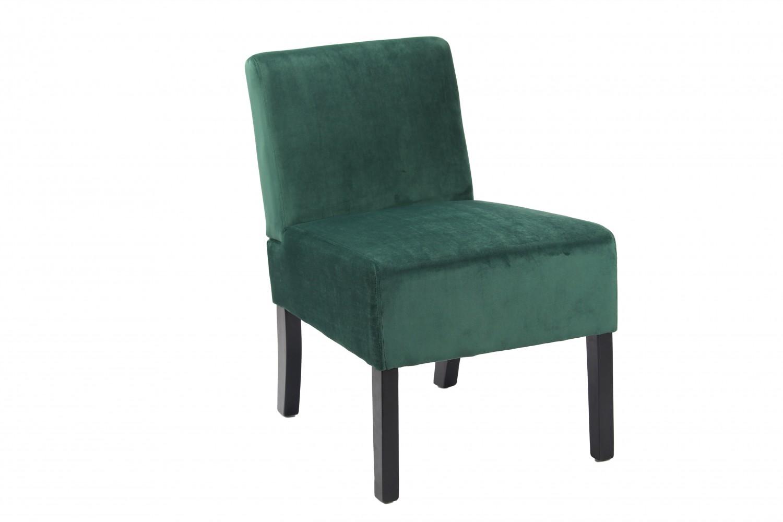 stuhl samt dunkelgr n. Black Bedroom Furniture Sets. Home Design Ideas