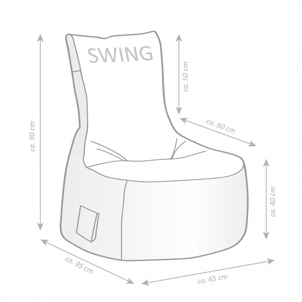sitzsack scuba swing khaki 300l sitting point by magma. Black Bedroom Furniture Sets. Home Design Ideas