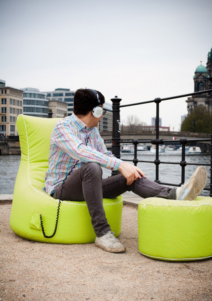 sitzsack dotcom scuba gr n 60l sitting point by magma. Black Bedroom Furniture Sets. Home Design Ideas