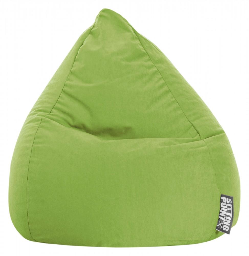 Sitzsack Beanbag Easy L Grün 120l Sitting Point Magma
