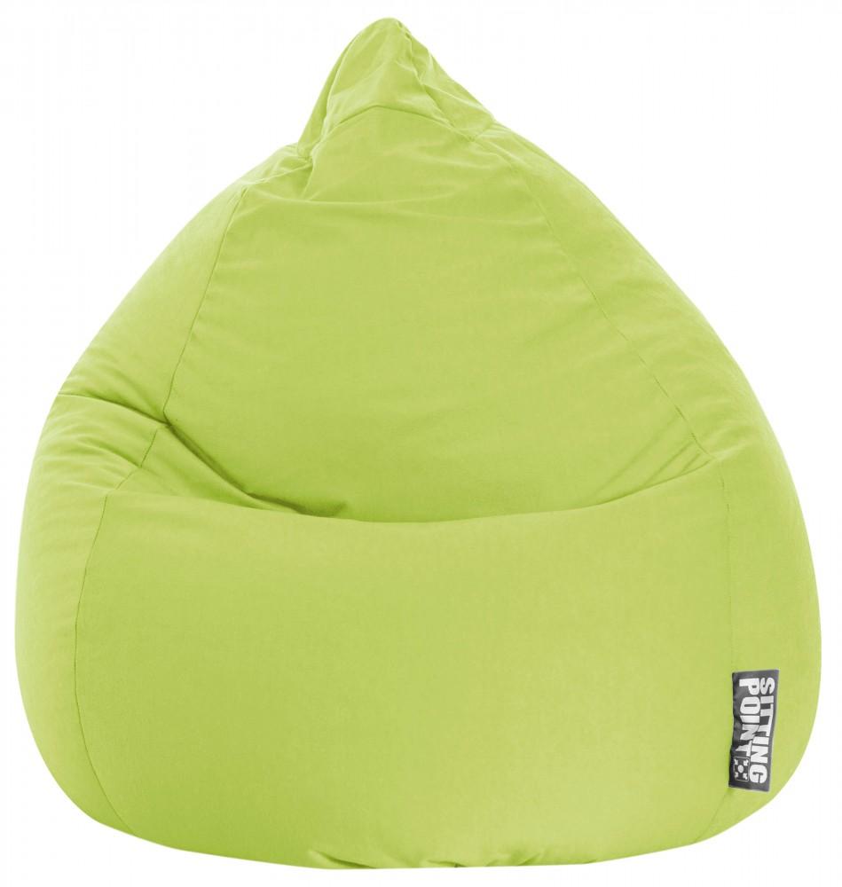 Sitzsack Beanbag Easy Xl Grün 220l Sitting Point Magma